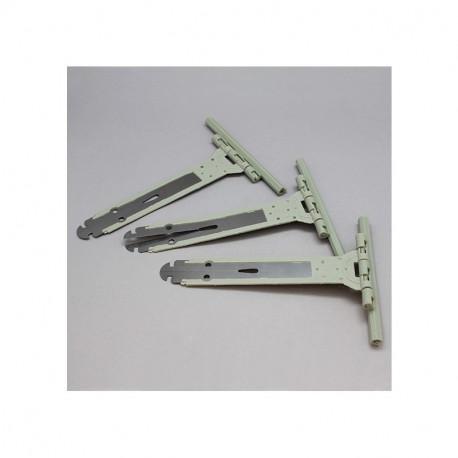 Attaches souples 150/165 pour volet roulant - lot de 3 pièces