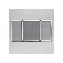 Moustiquaire cadre extensible Moustikit, largeur de 70 cm à 133 cm, Hauteur 50 cm Blanc