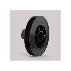 Poulie pour volet roulant sangle diamètre 123 mm