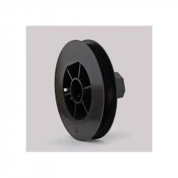 Poulie diamètre 155 mm pour volet roulant sangle