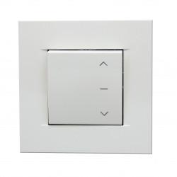 Interrupteur blanc norme NF pour volet roulant chez Eshop.france-combi.com