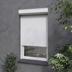 Volet roulant recoupable pour fenêtre, lames PVC, mano